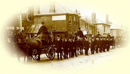 History of George Scott - Funeral procession circa 1900