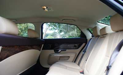 George Scott Funeral Services fleet interior