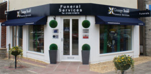 Picture of our Kinson office - Contact George Scott