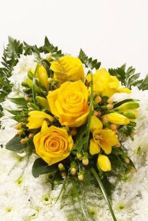 An example of Simonis' floral arrangements