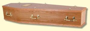 The Branksome coffin