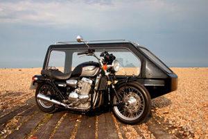 Alternative vehicle - bike with sidecar