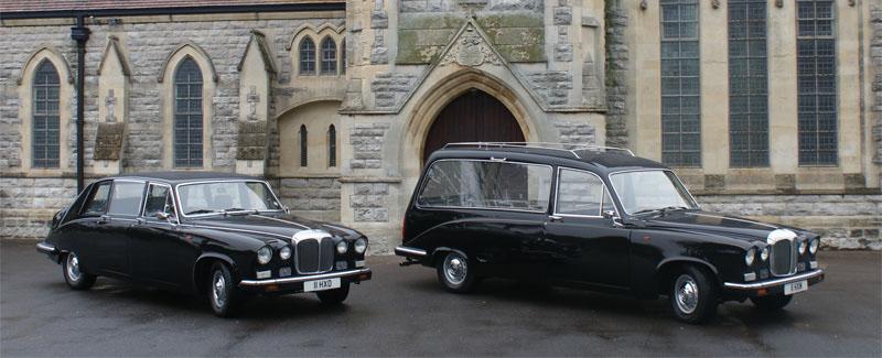 George Scott Funeral Services vintage fleet