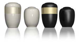 Example urns for ashes