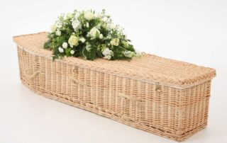 A willow coffin