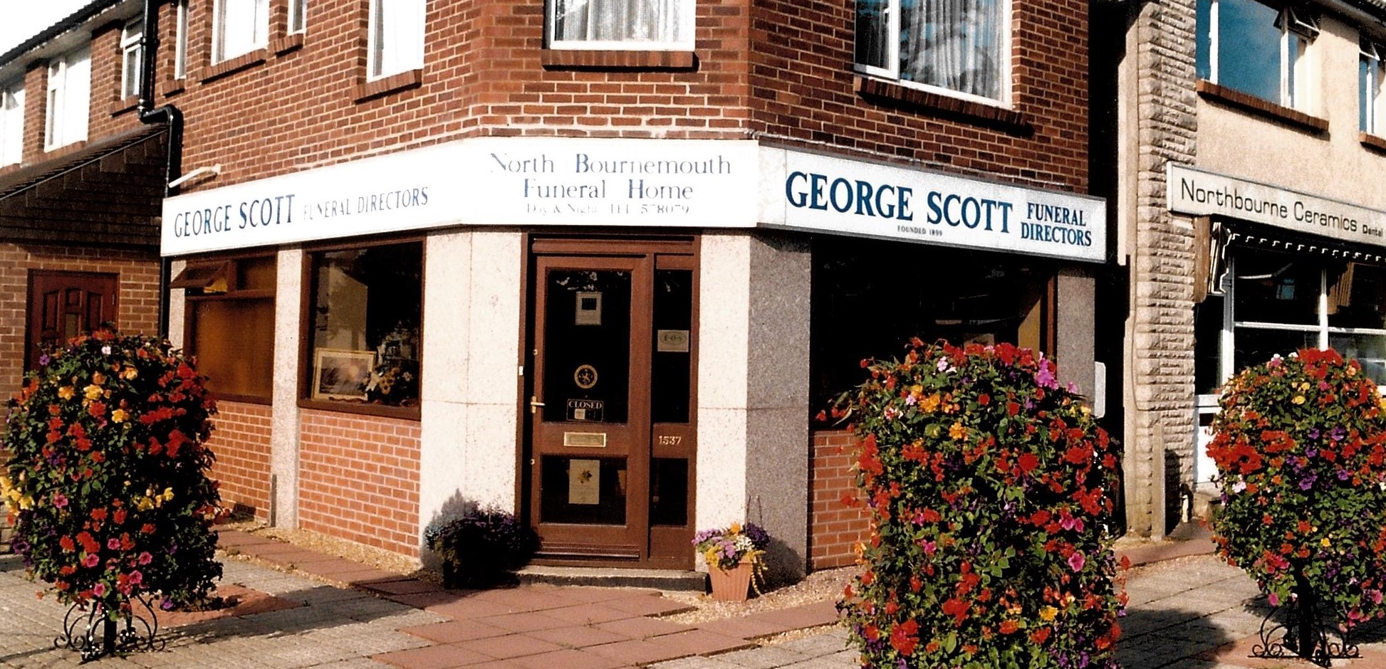 George Scott Funeral Directors home in Kinson