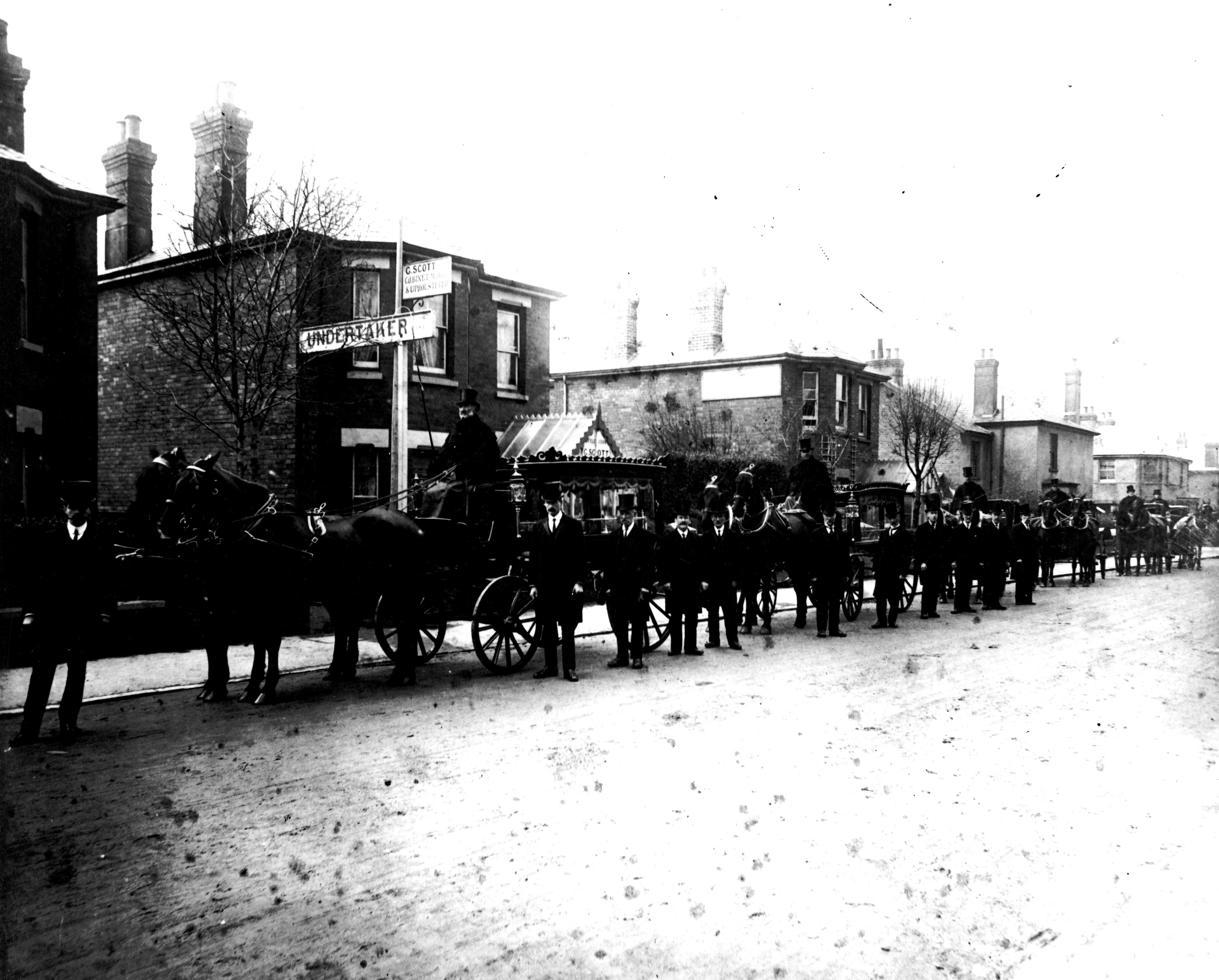 George Scott Funeral Directors - a historic image